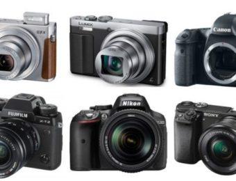 виды фотоаппаратов