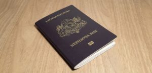 Паспорт иностранца