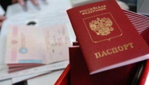 Служебный или официальный паспорт (Official passport)