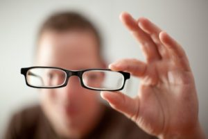Нарушение зрения