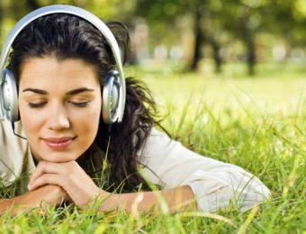 Прослушивание музыки
