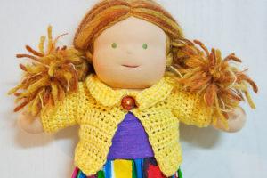 Куклы из нетрадиционных материалов