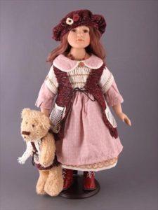 Парселиновые куклы