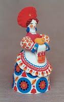 Дымковская кукла