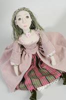 Папковая кукла(папье-маше)
