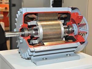 Трёхфазный асинхронный с короткозамкнутым ротором