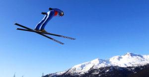Прыжки на лыжах с трамплин