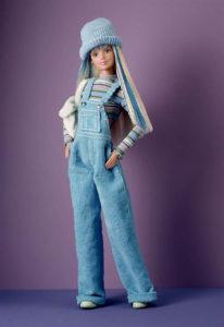 Барби в голубом, 1998